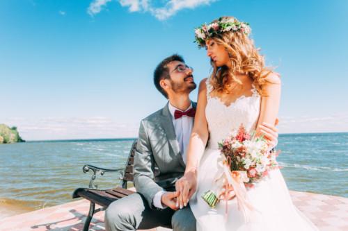 Свадебная съемка Оли и Толи. Запах любви